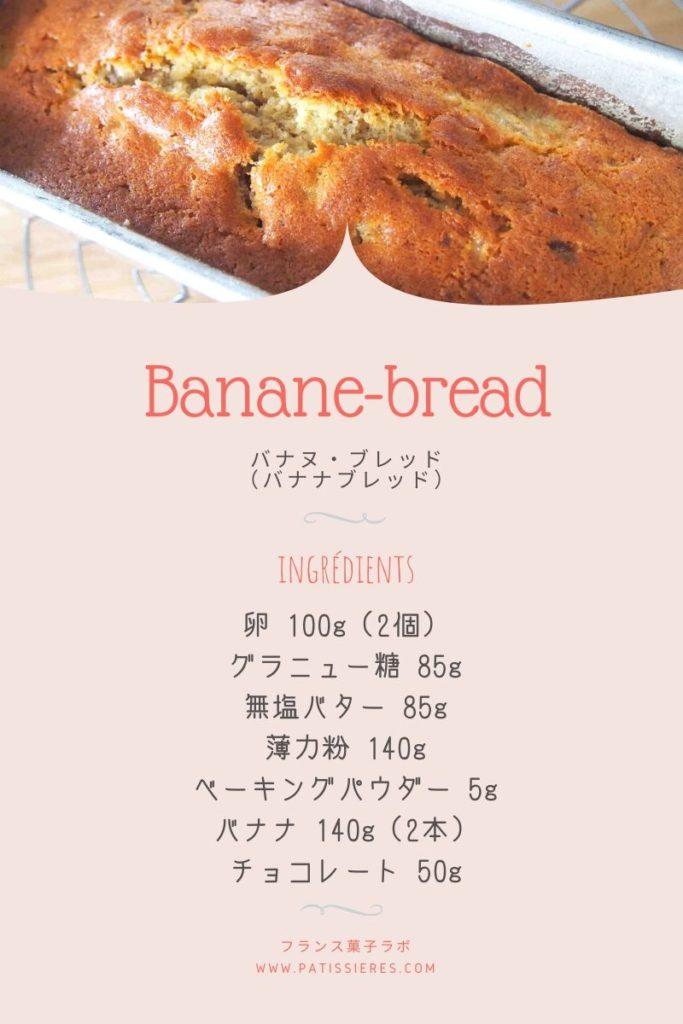 Pinterest バナナブレッド Banane-bread