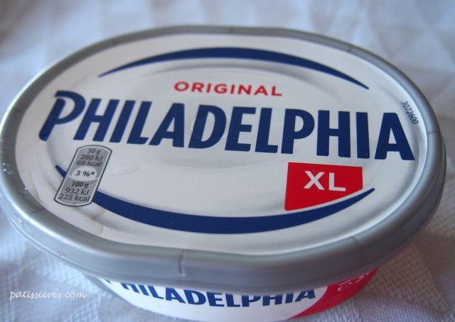 クリームチーズのフィラデルフィア